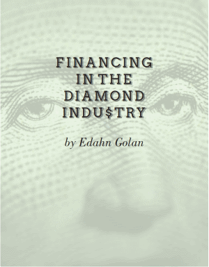 Report: Financing in the diamond industry