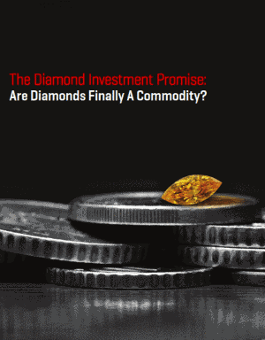The Diamond Investment Promise: Are Diamonds Finally A Commodity?