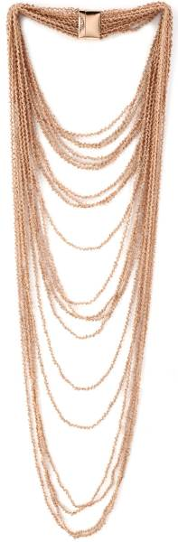 diamond market in chaos Large bib multi-strand necklaces were popular. By Pesavento