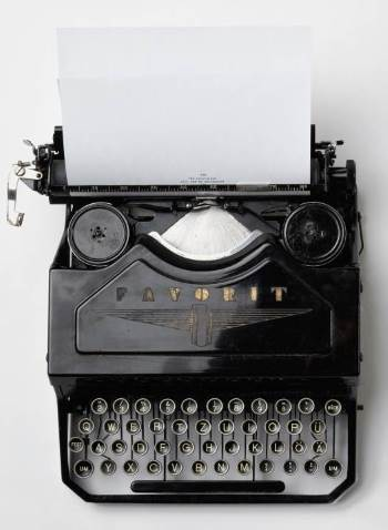 The stuff nightmares are made of - Typewriter