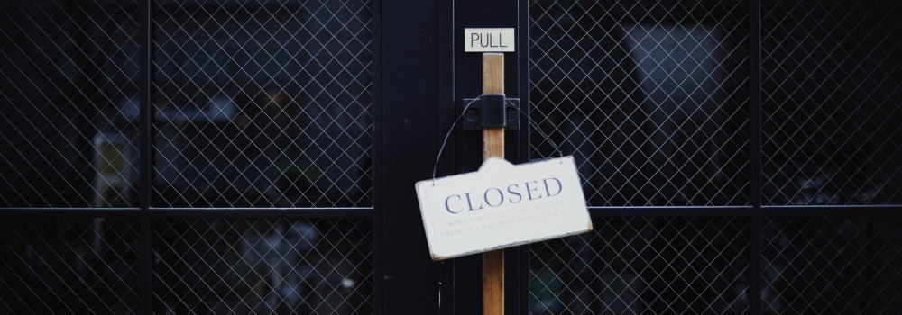 Closed Down - What it Took to Survive in 2020 A Worklist - Edahn Golan