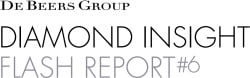 De Beers Group Insight Flash Report #6 - Edahn Golan diamond analysis polished LGD prices