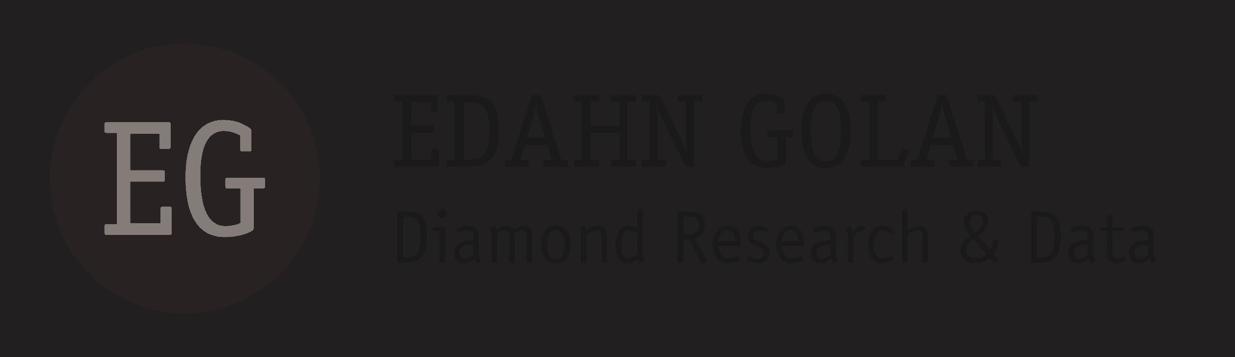 Edahn Golan Diamond Research & Data - Diamond industry analytics
